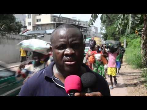 Fighting Erupts In Congo Capital, Thousands Flee