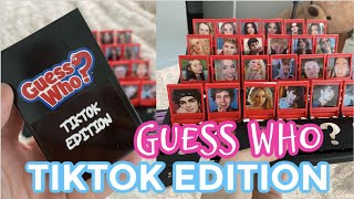 Guess who TIKTOK EDITION! *Creating my Own TikTok GAME*  | NickiBaber