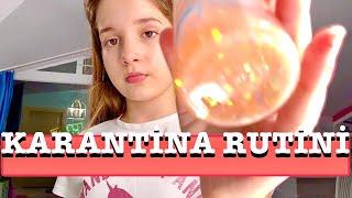 Karantina Rutini Vlog. Ecrin Su Çoban