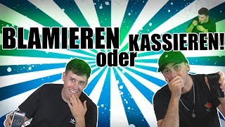 BLAMIEREN oder KASSIEREN! mit Crispy ROB   Mehlwurm Edition