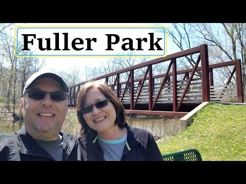 RV Trip Day 3 Fred Fuller Park Kent Ohio