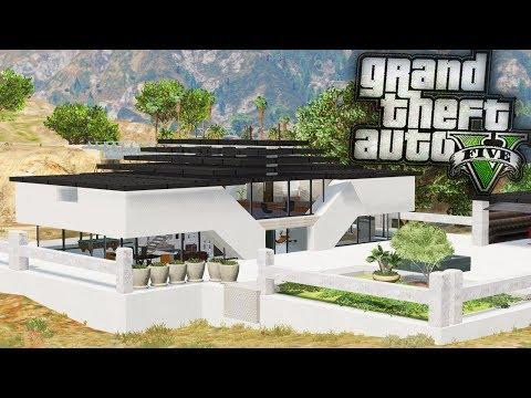 Franklins' Second Mansion!! - GTA 5 Real Hood Life - Day 72
