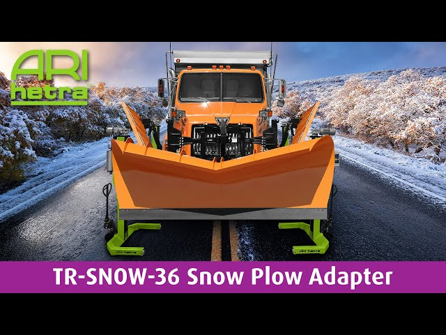 TR-SNOW-36 Snow Plow Adapter Preview