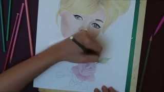 Time lapse n°1 - Brigitte Bardot drawing