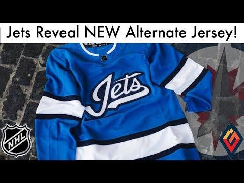 Winnipeg Jets Reveal NEW 3rd Jersey! - NHL Jersey Review