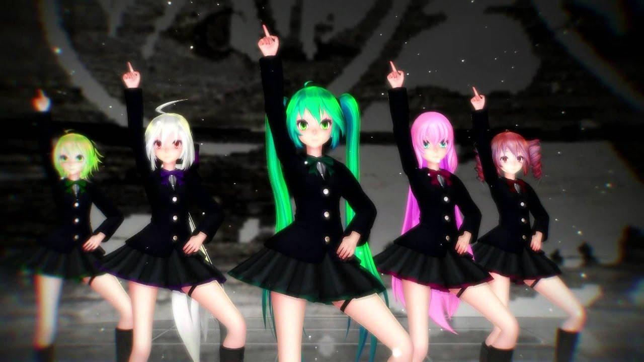 R Nine T >> Little Apple [MMD] - YouTube