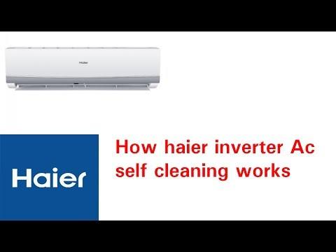 How haier Dc inverter Ac self cleaning works urdu/hindi