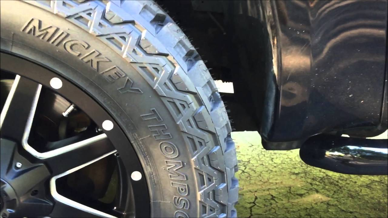 Fitting 35 Inch Tires On Factory Suspension F250 Youtube
