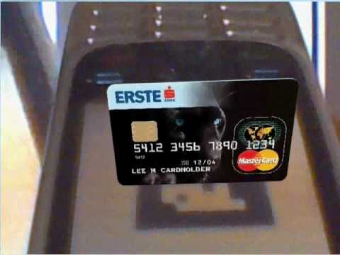 Augumented reality /Erste Panter Master Card
