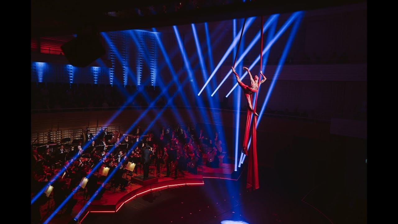 A Circus Symphony, Lucerne Switzerland - Aerial Silks - Alyssa Morar