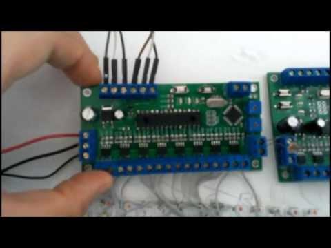Автоматическая подсветка лестницы (контроллер)