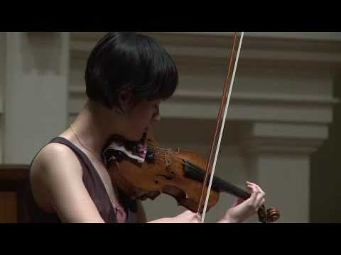 mvt 13 of Michael Hersch's 14 Pieces for solo violin, performed by Miranda Cuckson