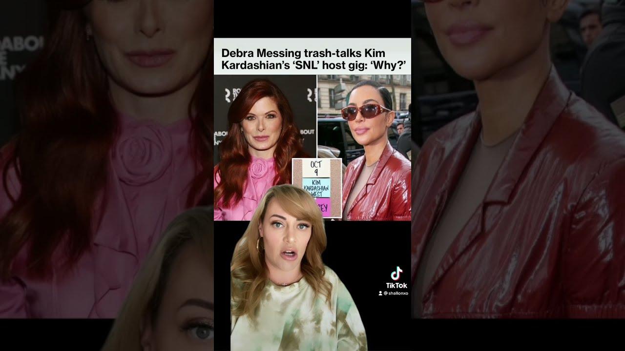 Debra Messing trashes Kim Kardashian's SNL hosting gig | Shallon Lester #shorts