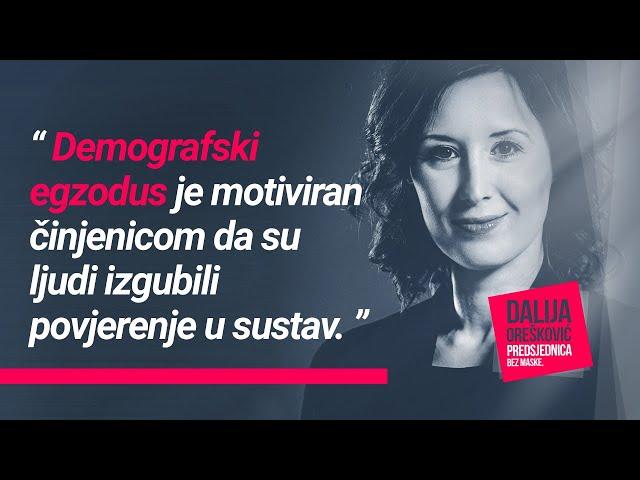 Dalija Orešković i Vlaho Orepić, HRT Studio 4