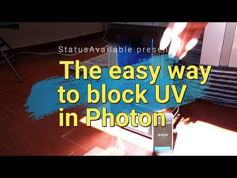 UV Kit Blocker for Anycubic Photon Resin Printer