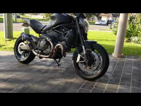 Ducati Monster 821 SC Project CRT - Walk around & start up