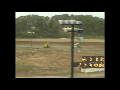 Full race from the SOD sprints at Hartford Speedway Park in MI July 3, 2001. Tim Norman takes the feature win. - dirt track racing video image