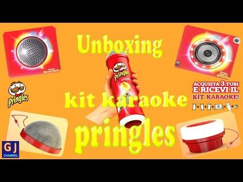 Unboxing e recensione kit karaoke pringles