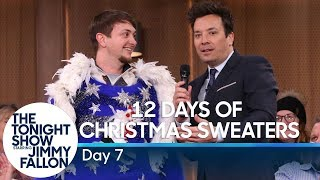 12 Days of Christmas Sweaters 2019:Day 7
