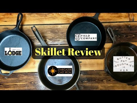 The Best Cast Iron Skillet? - Review of Lodge, Field Co, Stargazer, Butter Pat