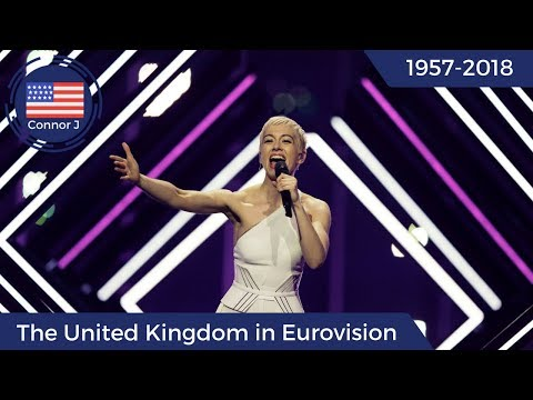 The United Kingdom in Eurovision (1957-2018)
