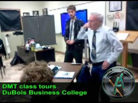 DMT Students Tour DuBois Business College
