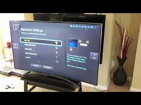 Samsung 65 Inch Curved 4K LED 3D Smart HDTV