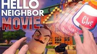 Realistic Minecraft: Hello Neighbor Alpha 3 Movie. Glue, Traps and Secrets.