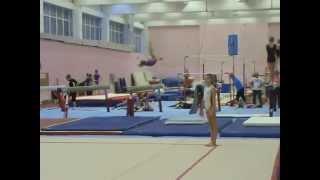 Спортивная гимнастика. Девочки. Акробатика.