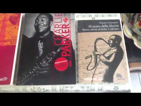 La mia raccolta di libri e riviste sulla musica jazz