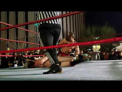 Chris Evans (C) vs The Josh Carey RWA