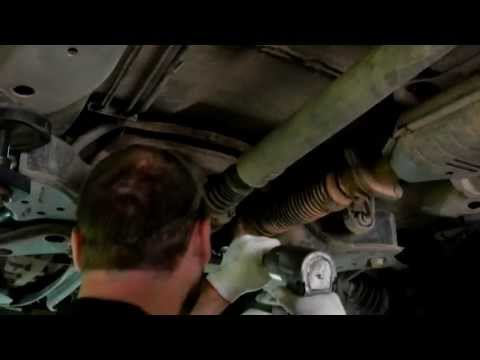 exhaust flex pipe replacement  ford escape youtube