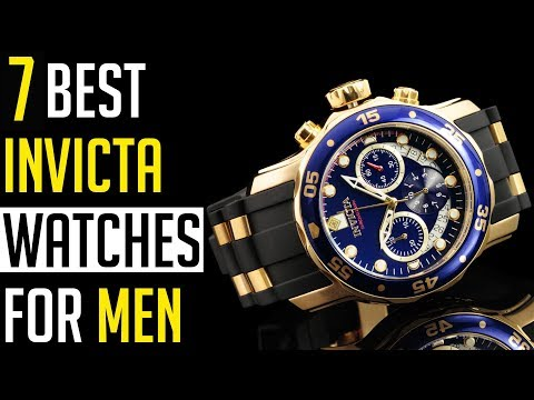 Invicta Watch: Top 7 Best Invicta Watches For Men 2019