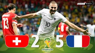 Switzerland 2 x 5 France ● 2014 World Cup Extended Goals & Highlights HD