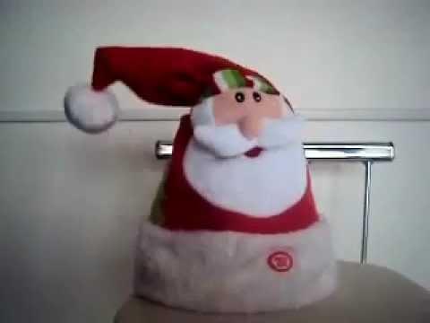 Gorro de Papai Noel Musical Dançante - Toca Vermelha de Natal que Canta e  Dança - COMPRE JÁ - YouTube 21df6c14049