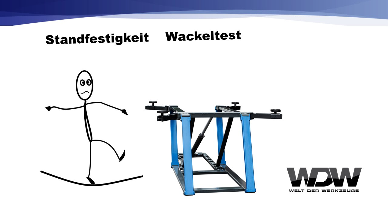 wdw lift extended standfestigkeit wackeltest youtube. Black Bedroom Furniture Sets. Home Design Ideas