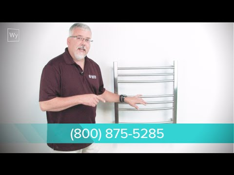 How to install a Towel Warmer - YouTube