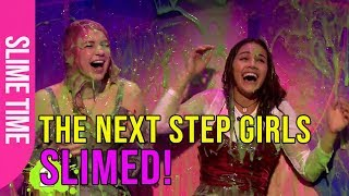 The Next Step girls get slimed