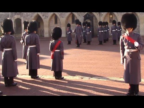 Changing of the Guard at Windsor Castle, 17/11/2018