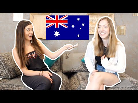 Speaking In An Australian Accent