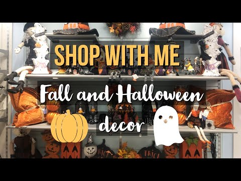 MARSHALL'S FALL/HALLOWEEN SHOP WITH ME | FALL AND HALLOWEEN DECOR 2019