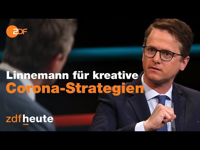 Diskussion über die Alternativlosigkeit der Bundesregierung | Markus Lanz vom 17. Februar 2021