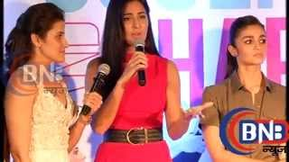 Alia Bhatt | Katrina Kaif | Book Launch | Fitness Trainer | Yasmin | Sculpt & Shape