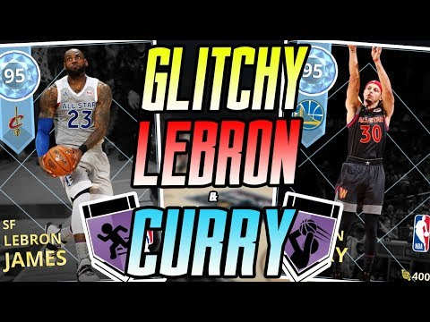 NBA 2K18 MYTEAM DIAMOND LEBRON JAMES & STEPHEN CURRY GAMEPLAY! BEST CARDS IN THE GAME HANDS DOWN!