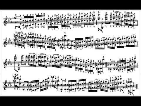 Niccolò Paganini - Caprice for Solo Violin, Op. 1 No. 17 (Sheet Music)