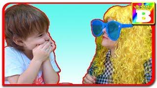 Profa de Engleza! Impostoarea si Bogdan`s Show. Video pentru copii.