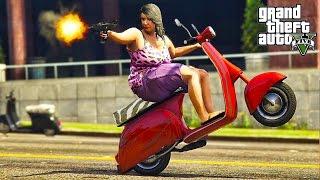 GTA V - RANDOM & FUNNY MOMENTS 45 (Drive By Madness!)