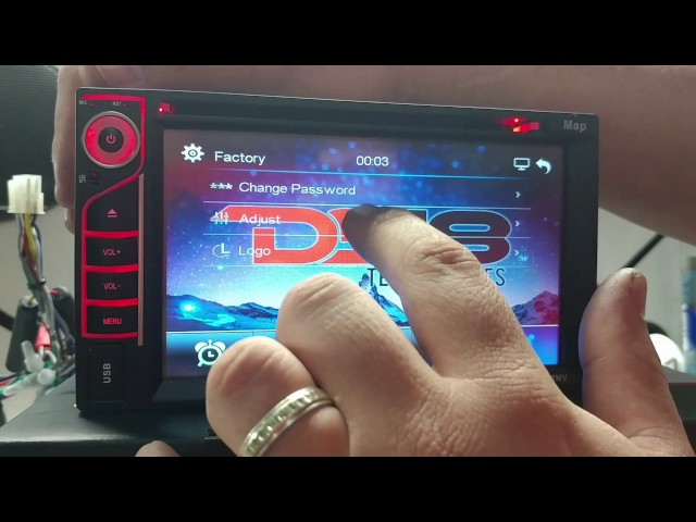 DS18 How to activate GPS Function on DD652NV