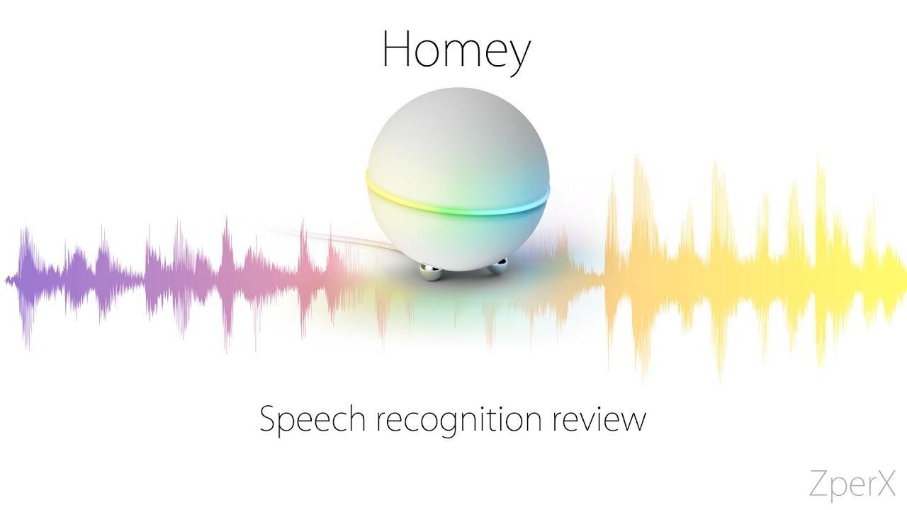 Athom Homey Speech recognition Review