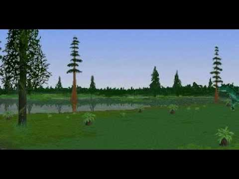 Dinosaur Safari (Early Cretaceous) Clip #4: Carnotaurus